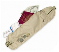 ...to you and away from light fingers with this money belt.  ORDER ONLINE.
