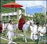 Исторический карнавал Jidai Matsuri. Киото