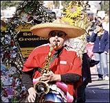 Парад, просто парад. Пасадена, Калифорния