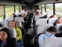 Позы в автобусе фото 1