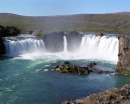 Водопад Годафосс (Godafoss waterfall), Хусавик